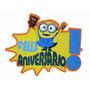 Painel - Eva Minions Feliz Aniversario