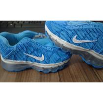 Tênis Nike Airmax Infantil Azul Importado