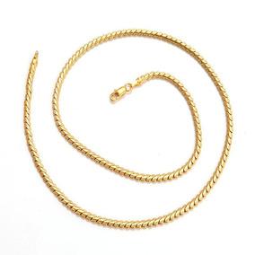Cadena Oro Laminado 10k 20 Pulgadas X 2mm 8.6 Gramos