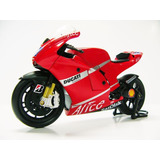 Moto Ducati Desmocedici Gp07 1/12 New Ray Detalle Coleccion