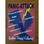 9029 Libro Panic - Attack Beba Paez Vilaro Autografiado
