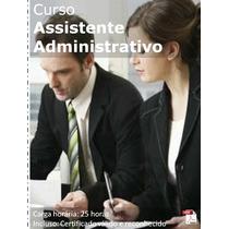 Curso Assistente Administrativo Com Certificado