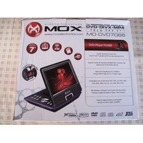 Dvd Player Mox 7+tv Mais Suporte Veicular Mo-7066