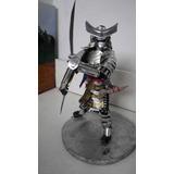 Figura Escultura Lata Samurai Escultura Realista Espadas
