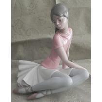 Escultura Porcelana Española Lladro Bailarina Excelente