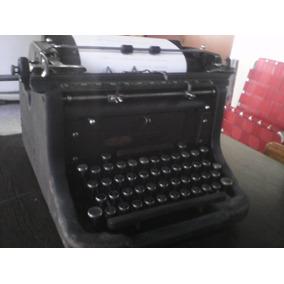 Colección, Liquido Máquina De Escribir Underwood Funcionando