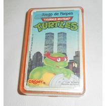 Cartas Naipes De Tortugas Ninja Turtles De Cromy