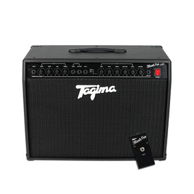 Cubo Amplificador Guitarra Tagima Black Fox100+ Pedal Foots