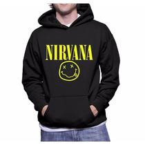 Moletom Nirvana Unisex Blusa Canguru A Melhor