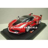 Ferrari Fxx K Hybrid - Espectacular Megacar - Burago 1/24