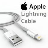 Cable Para Iphone 2mt 5c/5/5s/6/6plus/6s/6splus Certificados