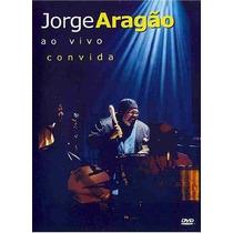 Dvd Jorge Aragao Ao Vivo Convida