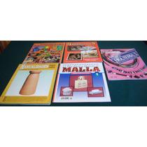 Revistas De Manualidades, Malla Y Bisutería Paquete De 5