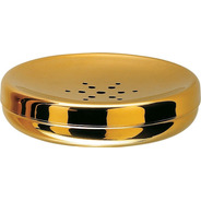 Saboneteira Hara Spa Golden ( Aço Inox Dourado )
