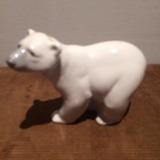 Figura Lladro, Oso Polar De Porcelana! Impecable!