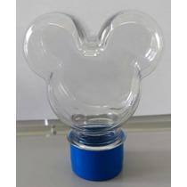 Tubete Mickey Minnie Mouse - Tampa Plastica 40 Unids