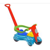 Carrinho Moto Andador Motoca Infantil De Empurrar P/passeio