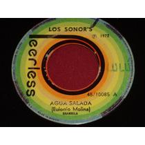 Los Sonors Ep 7´ 45 Rpm Agua Salada Sonor