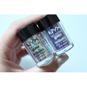 Nyx Glitter Brillants Face Body Brilho Rosto Corpo Original