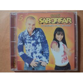 Cd Forró Saborear Vol 05. Lacrado Novo Original