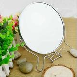 Espelho De Mesa 12,7cm 5 Pol Maquiagem Dupla Face C/aumento
