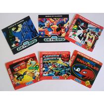 Label Para Cartucho De Megadrive Super Nintendo Snes