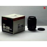 Lente Canon Ef 80-200 Ii F:4.5 Autofocus Apto Digital Box