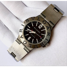 6bce05b7a6a Relogio Bvlgari Diagono Sb P 42 G An - Relógios