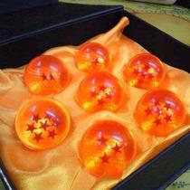 Set De 7 Esferas Del Dragon 4cm Excelente Regalo!