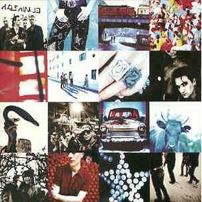 Cd U2 - Achtung Baby - 1991