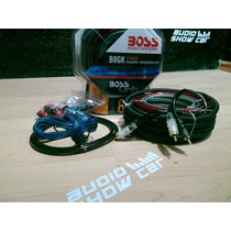 Kit De Cables Amplificador Calibre 8 Boss