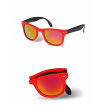 Óculos De Sol Dobravel Importado Com Case Color