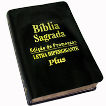 Bíblia (evangélica) Letra Hiper Gigante - Fácil Leitura