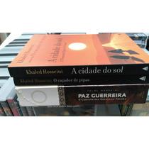 O Caçador De Pipas + 2 Livros Romances Tema Oriente