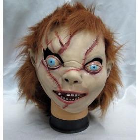 Máscara Cabeça Chucky Boneco Assassino - Fantasia, Halloween