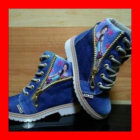 Botas Boticas Para Niña De Jeans Soy Luna - Calzado Niñas