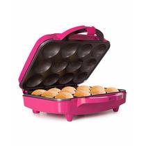 Maquina Para 12 Cupcakes Holstein 1200w + Accesorios (rosa)