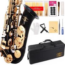 Saxofon Glory 11reeds,8 Pads Cushions Case Carekit More