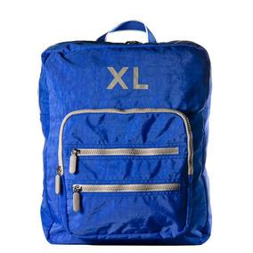 Xl Extra Large Sandro Mochila Azul Cartera Para Mujer.