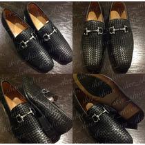 Zapatos Casuales Vestir Ferragamo Gucci Louis Vuitton