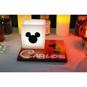 Centro De Mesa Mickey Mouse 10 Piezas Aluzza.