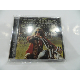 Cd - Janis Joplin Greatest Hits Importado Novo