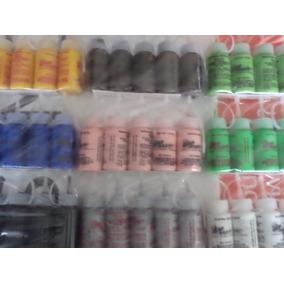 Pintura Textil Inflable 30 Grs 24 Piezas Con Envío