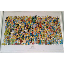 Quadro Original The Simpsons Grande 95x64