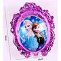Globo Metalizado Frozen Elsa Anna Ana Doble Cara 70 Cm