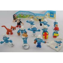 Bonecos Smurfs Smurfs Variados 3 Peças