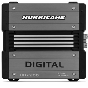 Módulo Amplificador Digital Hd 2200 Hurricane 2200 Wrms