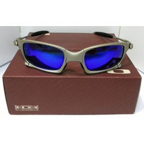 Oculos Oakley 24k Carbon Juliet Double X Squared Magic Blue