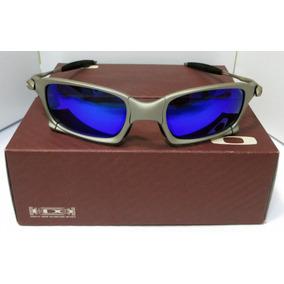 Oculos Oakley 24k Carbon Juliet Double X Squared Magic Blue