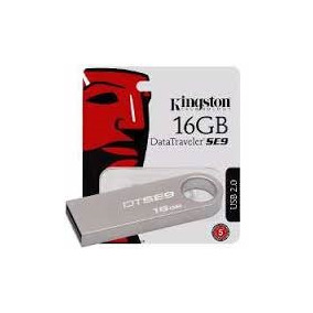 Kit 5 Un- Pendrive 16gb Kingston Dtse9 Usb 2.0 Metal Origin